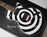 best Musical Instruments Custom Zakk Wylde Electric guitar Black & white