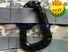 Brand New 3pcs/lot Grimloc Carabiner Black (big) free ship