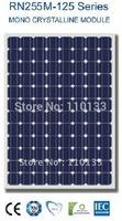 255Watt New Nano Coating & Self Cleaning Solar PV Panel