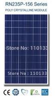 235Watt New Nano Coating & Self Cleaning Solar PV Panel