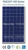 230Watt New Nano Coating & Self Cleaning Solar PV Panel