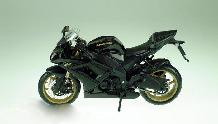 MAISTO alloy 1:12 Kawasaki Ninja ZX-10R motorcycle model Free Shipping(China (Mainland))