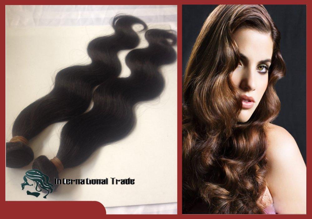 Virgin Peruvian Remy Hair Body Wave Grade Aaaa 100g 17