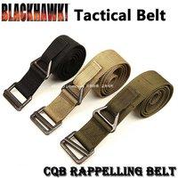 NEW BlackHawk CQB Rescue Riggers Tactical Rappelling Belt 30- 41 Black Tactical Parachute Grade Instructors Gun Belt