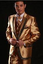 popular golden wear clothing