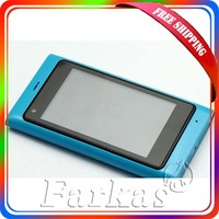 "Free Shipping 3.6"" Touch Screen Quad Band Dual SIM L9 N9 TV WIFI Mobile Phone Wholesale&Retail"