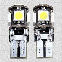 Freeshipping 24months warranty 5SMD car light 5050 side light 194 168 192 W5W LED Light Auto Bulbs Lamp Wedge Interior Light