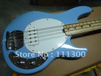 best Musical Instruments music man blue 4strings Electric bass