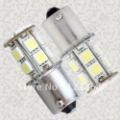 Freeshipping 24months signal lighting BA15S led Light Bulb lamp 13SMD 5050 (1156(, P21W, 7506,7507, 380,1141, 5007(R5W),5008)