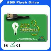 Best  selling 8GB credit card USB flash pendrive USB card