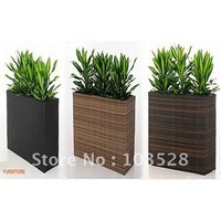 2012 new model outdoor rattan furniture wicker flower trough  PF-5102