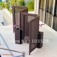 2012 new model outdoor rattan furniture wicker screen PF-5104