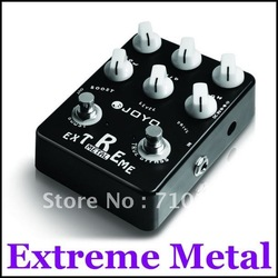 JOYO JF-17 Electric Guitar Classic Flanger Extreme Metal Distortion Amplifier Simulator Effect Pedal(China (Mainland))