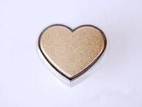 20 pcs Heart-shaped aluminum bar handle modern minimalist, simple European cabinets wardrobe door handle free shipping