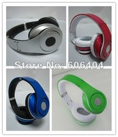 2012 Newest five colorsealed box studio headphone Noise-canceling headset,earphone+free shipping