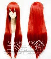 Shakugan no Shana Cosplay Long Red Straight Wig 80cm