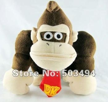 "Free shipping EMS 50PCS/Lot High Quality Plush Mario Bros 9"" Plush Doll Soft Toy Figure DONKEY KONG PLUSH TOY DOLLS  Wholesale"