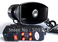 Auto Car 5 Sound Tones Metal Housing Horn  loudly  MOTOR  Bicycle Cycling Voice Electric Horn Bell Speaker Alarm Siren 120db