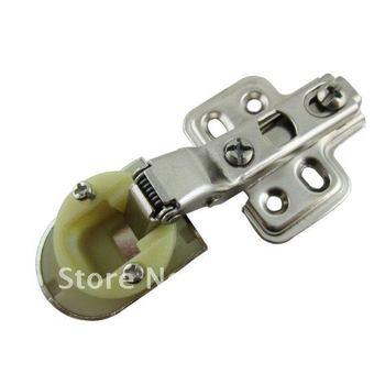 60 Pcs Cabinet Hardware Hinges Half Overlay Hinge Glass hinge  2012