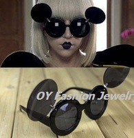 Lady Mickey Mouse Flip Paparazzi Sunglasses Gaga Shades Star Style Free Shipping M054