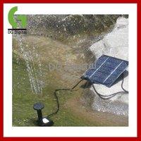 10pcs/LOT new design Solar Power Fountain Pond Pool Water Pump Kit+ DHL Free shipping