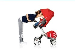 2012 limited new stokke xplory ,easying ordering + best service + Free shipping ! Stokke baby stroller (with adjustable seat )(China (Mainland))