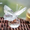 Beautiful PMMA Butterfly with crystal bottom Favor Wedding favor an gifts