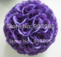 25cm inner plastic kissing ball-flower ball with wedding decoration-park decoration