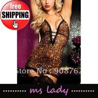sexy underwear sexy sleepwear woman sexy babydoll 5pcs/lot free shipping HK airmail