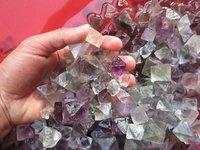 500g Lot Of 75pcs Natural Fluorite Crystal Octahedrons Rock Specimen China R176