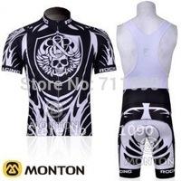 Free shipping!hot 2011 RockRacing team short sleeve cycling jersey and bib shorts set/bicycle clothes/Ciclismo jersey