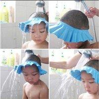 Baby Child Kid Shampoo Bath Shower Wash Hair Shield Hat Cap Yellow / Pink / Blue,5pcs/lot, freeshipping, dropshipping