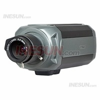 1/3 inch SONY Ex-view CCD Security CCTV Box Camera, 600 TV Lines Horizontal Resolution, 0.1Lux Minimum Illumination