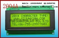 character LCD modules 20 x 4 LED backlight Y-G or Blue-white  Appearance:98.0x60.0x13.0 Field:76.0x26.0 Dot size:2.95x4.75