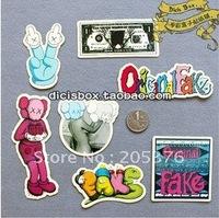 Diy phone beauty sticker skate label 20sets/lot free ship