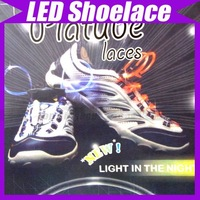10pcs/lot(5 Pair)Promotion Best Price Disco Flash light up LED Shoelace #1620