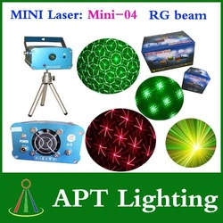 APT Lighitng:Mini-04 Mini Stage laser lighting DJ laser Disco light(China (Mainland))