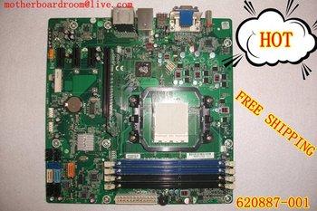 Por socket sistema HP Motherboard 620887-001H - Alvorix - RS880 - uATX ( Alvorix ) P6640F AMD AM2 DDR2 de escritorio placa envío gratuito