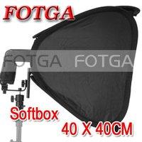 "Wholesale FOTGA 16"" Portable 40cm Softbox Soft Box for Flash Light Speedlite Photo Speedlight"