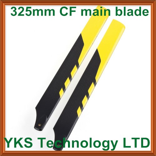 325mm  glass fiber main blade  for trex 450--D407