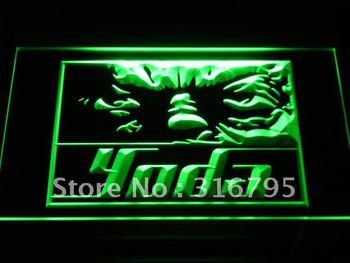 g021-g Yoda Star Wars Home Decor Fans Neon Light Sign
