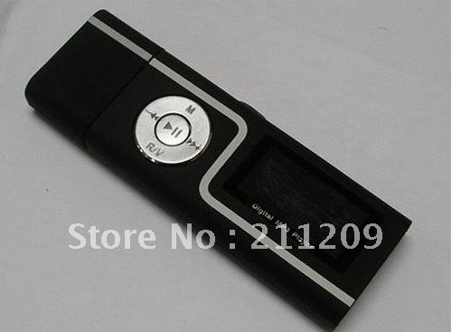 Best seller free shipping China post 5pcs 2GB Big S with the radio mp3/couples MP3/with screen mp3/audio / eBook usb mp3 player(China (Mainland))