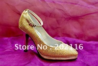 1 pair/lot Latest Fashion Noble Style Exquisite Design Evening/Wedding/Party Heels AC411