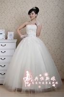 discount white wedding dress in lace 2015 new arrive