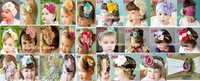 2012 NEWEST baby headbands/ kids hairband with flowers /Production 100%cotton/26kinds of design can choose+EMS/DHL free shipping