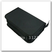 1pcs/lot 120 disc CD DVD Holder Storage Wallet Black Case Bag hot sell
