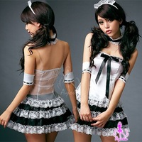 Angel Dambi Sexy Cute Maid play lingerie sets Costume Free shipping N22