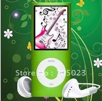 Perfect NEW 1.8 inch 9 COLORS 8GB FM VIDEO 4TH GEN MP3 MP4 play