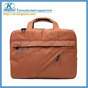 "Free Shipping!Kingsons Nylon Laptop Handbag/Messenger Bag KS6142W 14"" Wholesale!!!"