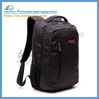 Fashionable Polka Dot Style laptop backpack for girl lady KS3010 420D Nylon  15.6""